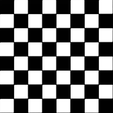 Black and white checkered tiles texture photo