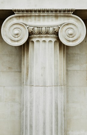 Ionic column Stock Photo - 6995296