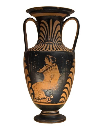 greek pot: Vaso greco antico
