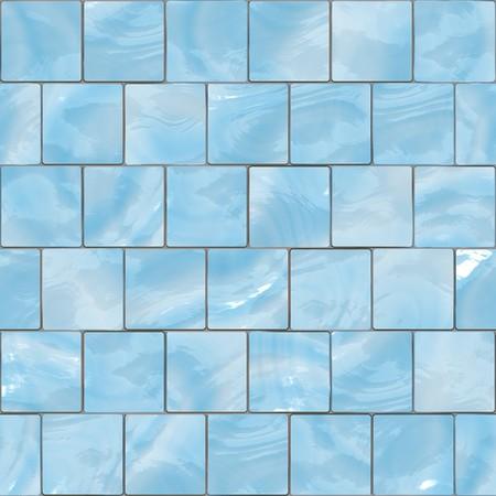 Blue glass tiles seamless texture photo