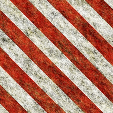 Red and white diagona hazard stripes seamless texture Stock Photo - 7235506