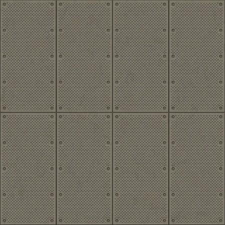 Seamless diamond plate pavement texture photo