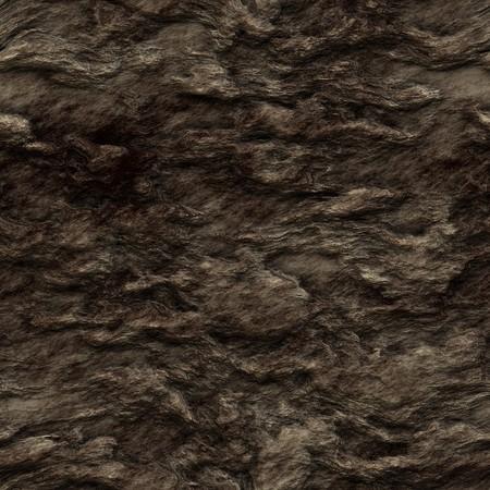 Seamless dark brown rock texture photo