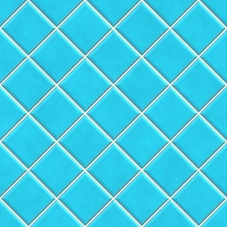 piastrelle bagno: Concetto di sfondo, cucina o bagno trama piastrelle blu senza saldatura