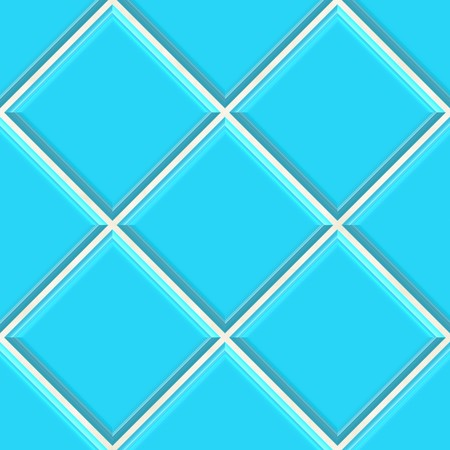 Seamless blue tiles texture background, kitchen or bathroom concept  photo