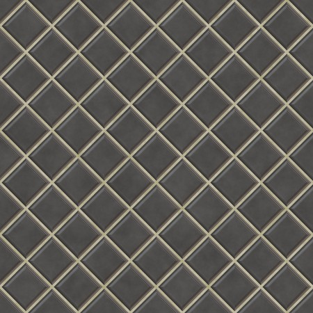 Nahtlose Schwarzen Fliesen Texture Background, Küche Oder Bad Konzept  Standard Bild   7306528