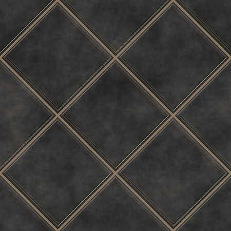 Seamless black tiles texture background, kitchen or bathroom concept  photo