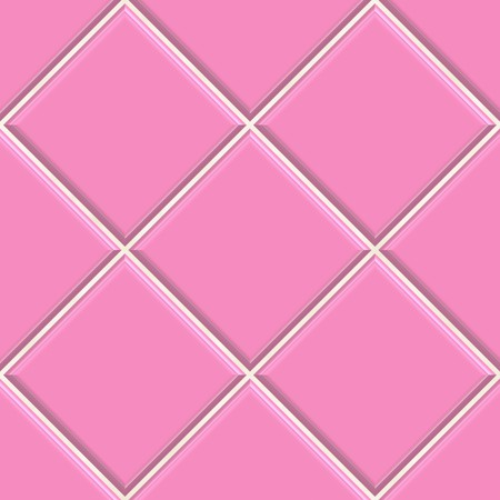 Seamless pink tiles texture background, kitchen or bathroom concept  photo