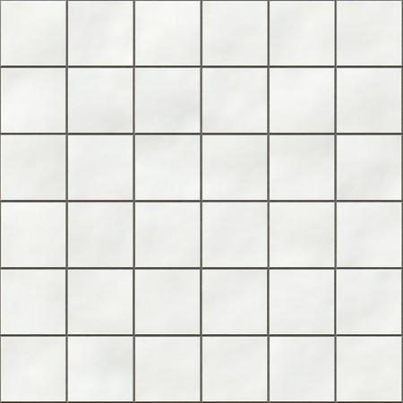 Seamless white square tiles texture photo