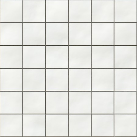 tile: Seamless white square tiles texture
