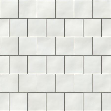 pavimento gres: Senza saldatura bianca quadrata tessere trama in stile inglese