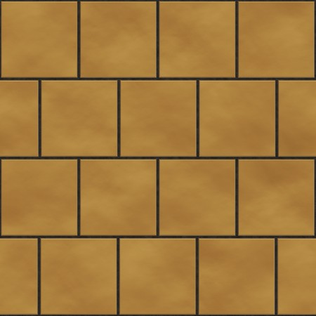 Seamless yellow  square tiles texture in an english style position photo