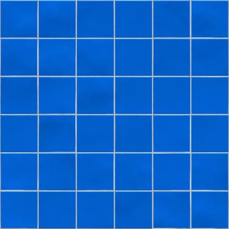 Blue tiles texture background, kitchen, bathroom or pool concept photo