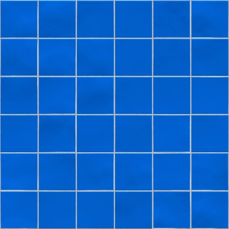 Blue tiles texture background, kitchen, bathroom or pool concept photo