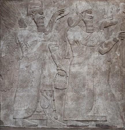 babylonian: Alivio de la antiguo de dioses assyrian
