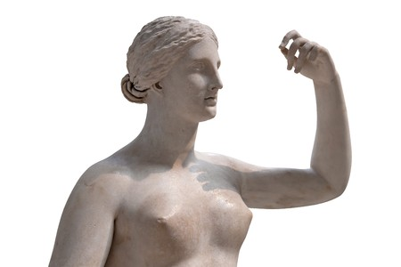 Ancient statue of a nude Venus isolated Stock Photo - 7377892