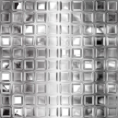 Seamless black and white glass tiles texture photo