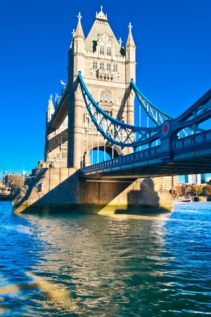 The TowerBridge in London on a bright sunny day Stock Photo - 9397615