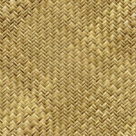 Nahtlose gewebten Korb Textur Standard-Bild