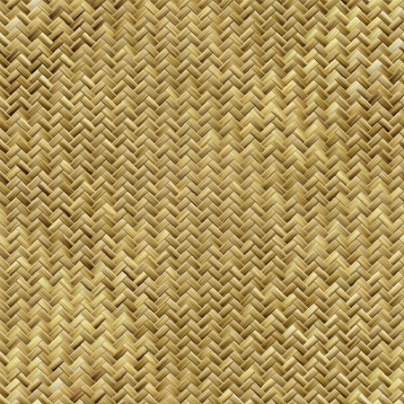 woven surface: Seamless woven basket texture Stock Photo