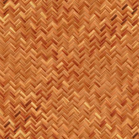 Seamless woven basket texture photo