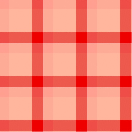 Seamless tartan or plaid texture in red photo