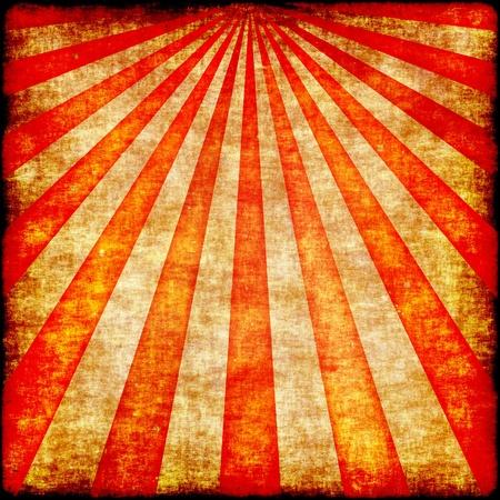 Grunge rays illustration in reddish shades illustration