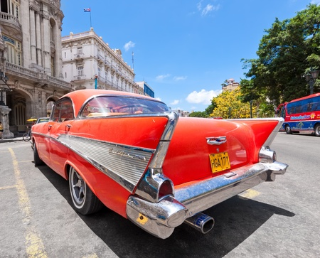 decades: HAVANA-JUNE 4:Old Chevrolet June 4,2011 in Havana.Cubans keep thousands of classic cars running even when parts have not been made for decades and theyve become an icon of the country