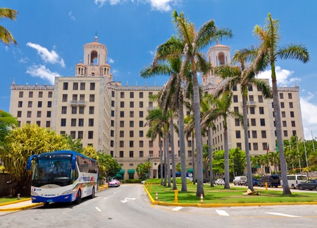 frank: HAVANA-JUNE 26:The Hotel Nacional June 26,2011 in Havana.This luxuy hotel,opened in 1930,was the favourite destination in Cuba for celebrities from Frank Sinatra to Ava Gardener or Winston Churchill