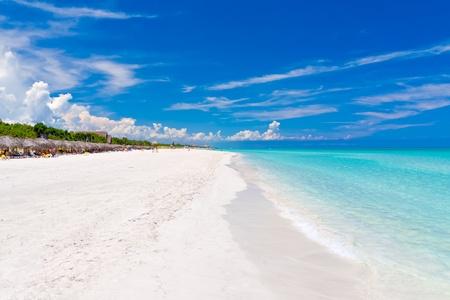 The beautiful beach of Varadero in Cuba Stock Photo