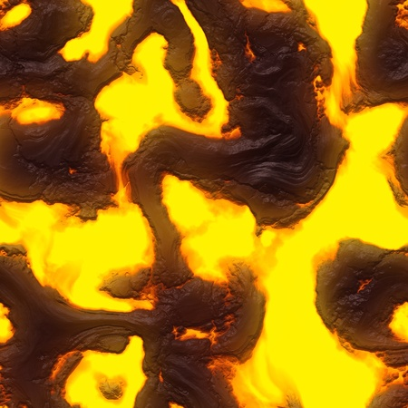 magma: Seamless magma or lava texture  Stock Photo