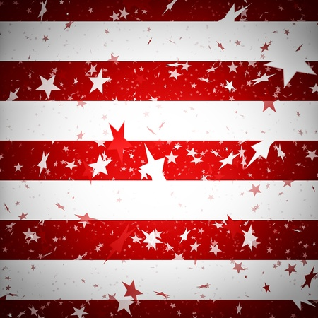 patriotic usa: Background resembling the american flag Stock Photo