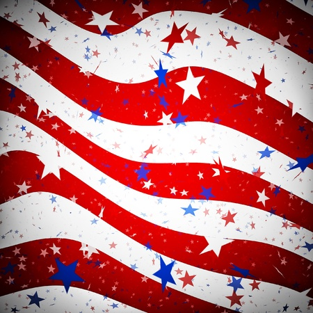 Background resembling the american flag Stock Photo