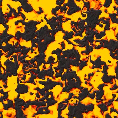 bedrock: Seamless lava or magma texture