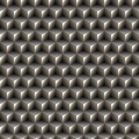 Seamless 3d cubes texture photo
