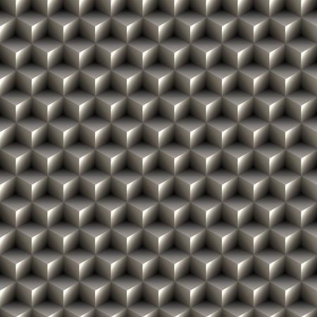 escher: Seamless 3d cubes texture