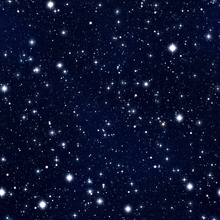 night sky and stars: Seamless texture simulating the night sky with stars