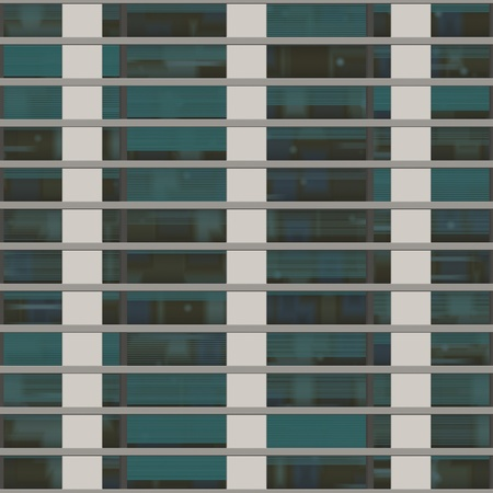 Seamless texture resembling windows of a high rise building photo