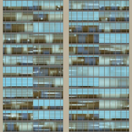 resembling: Seamless texture resembling windows of a high rise building