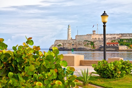 The castle of El Morro in Havana photo