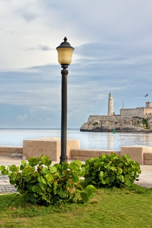 The castle of El Morro in Havana photo