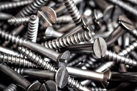metal fastener: New screws background