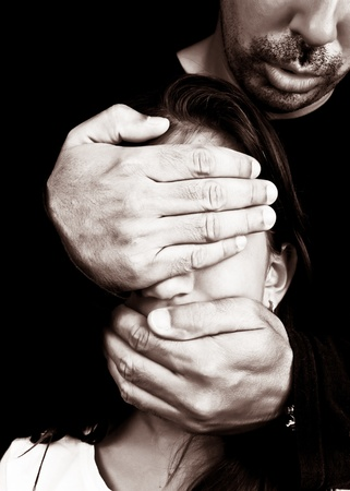 eyes shut: Child abuse and harassment by an unknown adult man who covers her eyes and mouth