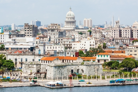 capitolio: The city of Havana including the old town and several iconic buildings