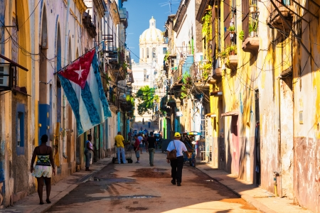 Street scene in Old havana Stock Photo - 15179649