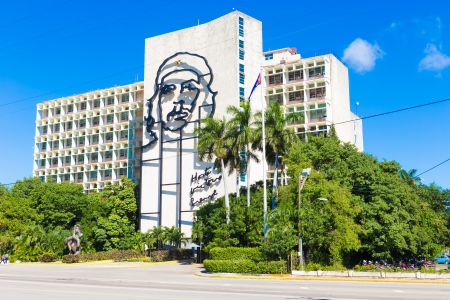 che guevara: The Che Guevara Monument at the Revolution Square in Havana