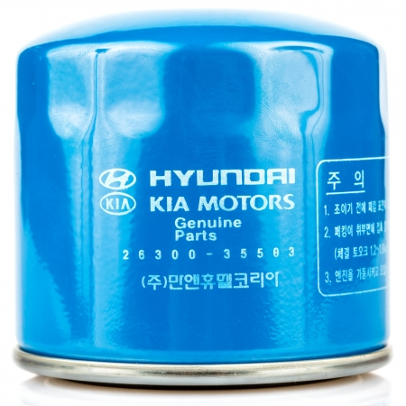 Hyundai-Kia internal combustion engine oil filter