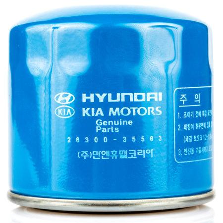 new filter: Hyundai-Kia internal combustion engine oil filter