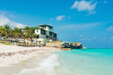 View of Varadero beach in Cuba