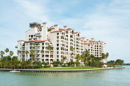 fisher: Residences at Fisher Island, an exclusive community in an artificial island off shore Miami, Florida